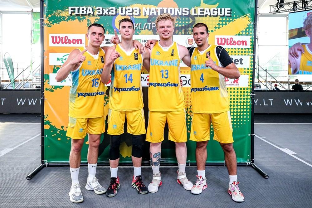 Ліга націй 3х3 в Клайпеді: чоловіча та жіноча збірні України посіли другі місця