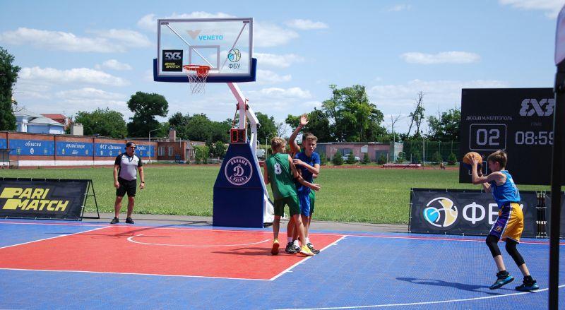 Визначилися переможці 4 туру юнацького чемпіонату України з баскетболу 3х3