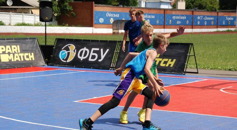 У Одесі відбувся тур юнацького чемпіонату України 3х3: фотогалерея