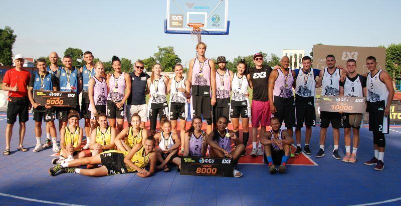 Визначилися переможці 5 туру чемпіонату України 3х3