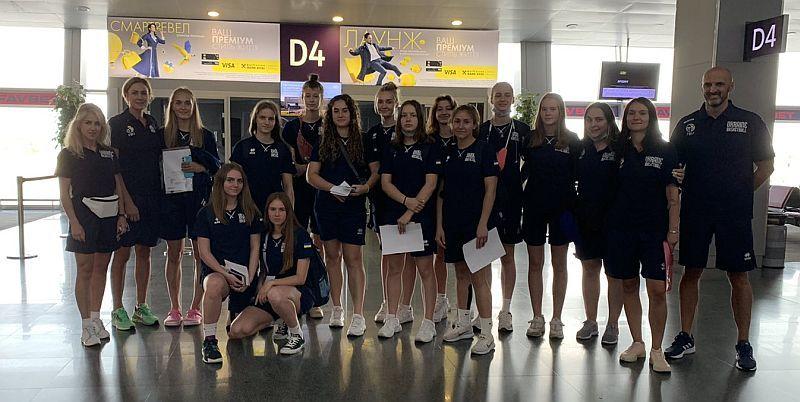Жіноча збірна України U-18 вирушила в Болгарію на Єврочеленджер