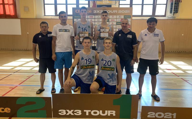 Чоловіча збірна України U-17 зіграла на турнірах 3х3 у Чехії та Польщі