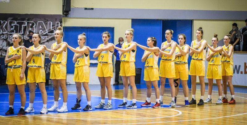 Жіноча збірна України U-18 зіграє третій матч Єврочеленджера