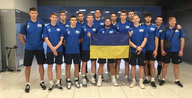 Чоловіча збірна України U-18 вирушила на Єврочеленджер до Словаччини