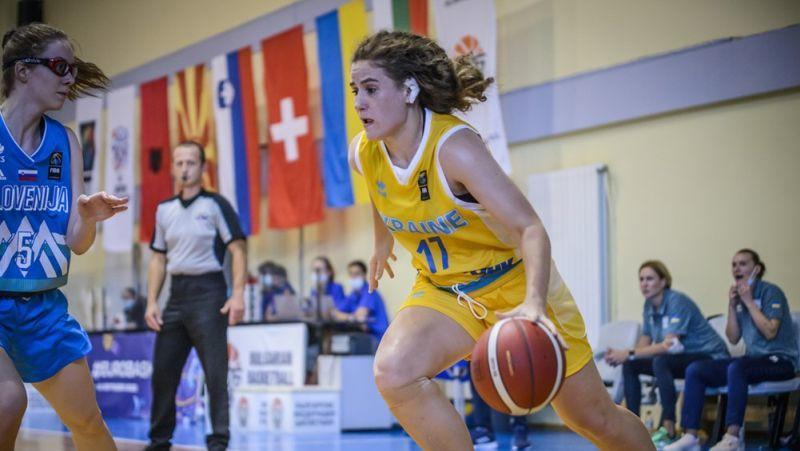 Жіноча збірна України U-18 вольовою перемогою завершила Єврочеленджер