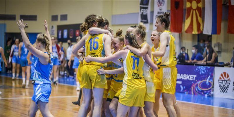 Жіноча збірна України U-18 третьою фінішувала на Єврочеленджері