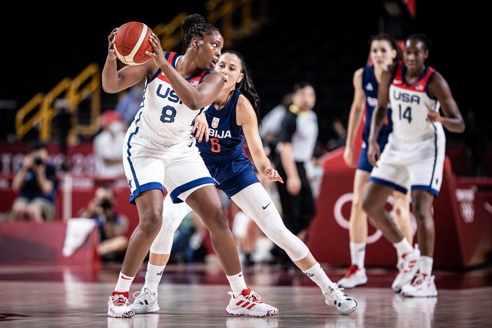 Жіноча збірна США — у фіналі олімпійського баскетбольного турніру