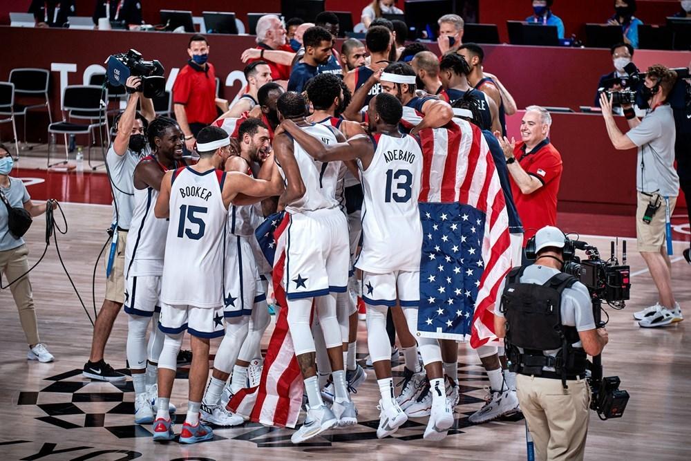 Чоловіча збірна США вчетверте поспіль завоювала золото Олімпійських ігор
