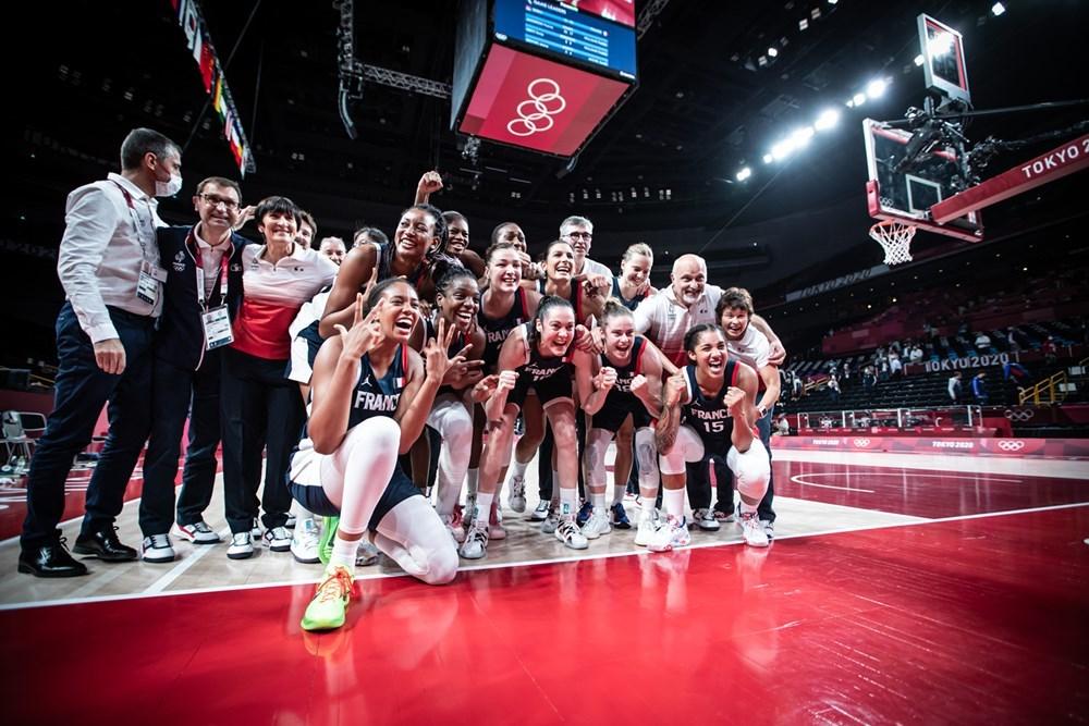 Жіноча збірна Франції завоювала бронзу Олімпійських ігор