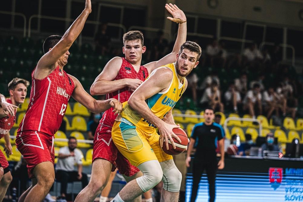 Чоловіча збірна України U-18 проти команди Угорщини: хайлайти фіналу Єврочеленджера