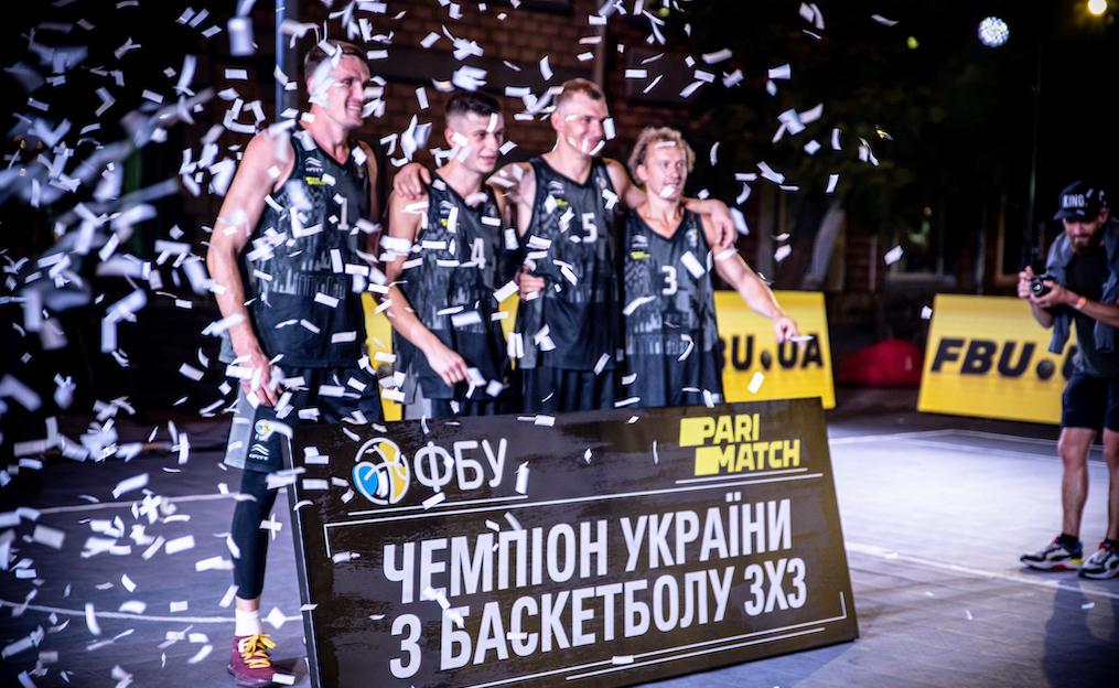 Суперфінал літнього чемпіонату України 3х3: фотогалерея церемонії нагородження