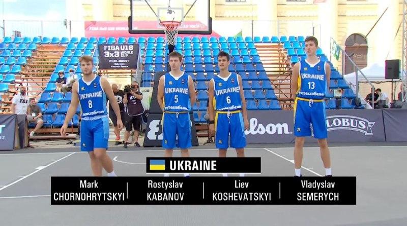 Чоловіча збірна України U-18 з перемоги стартувала на чемпіонаті світу 3х3 в Угорщині