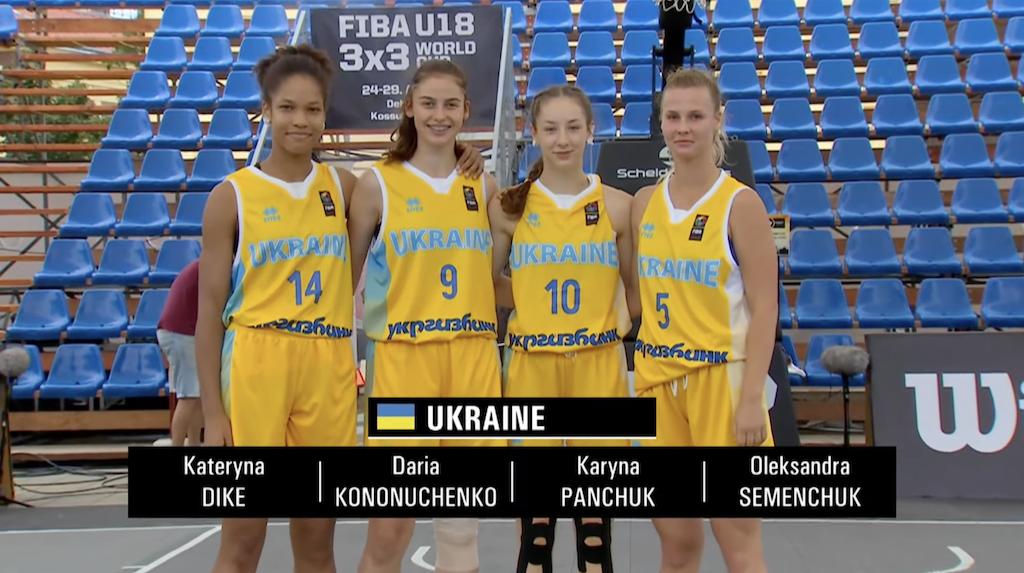 Жіноча збірна України U-18 у напруженому матчі програла Іспанії на старті ЧС 3х3