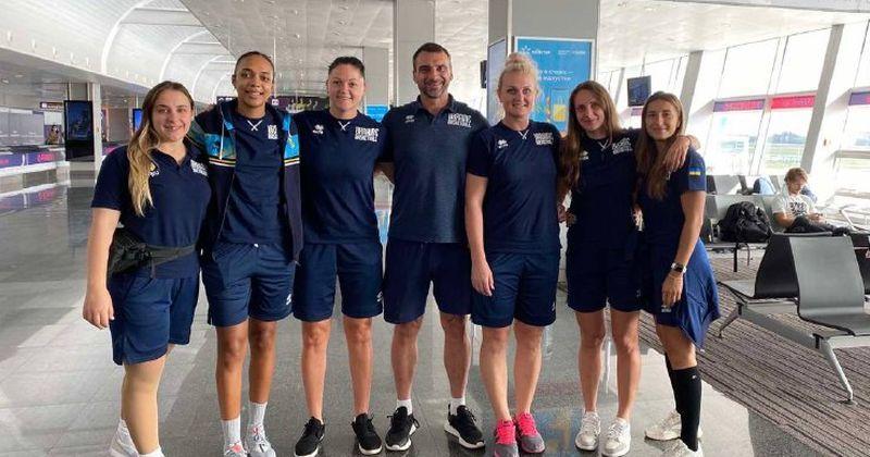 Жіноча збірна України 3х3 зіграла контрольні матчі в Німеччині