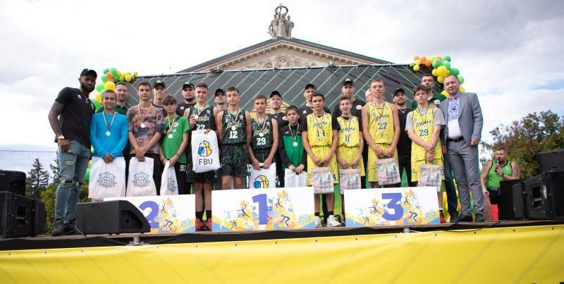 Визначилися переможці 6 туру юнацького чемпіонату України 3х3