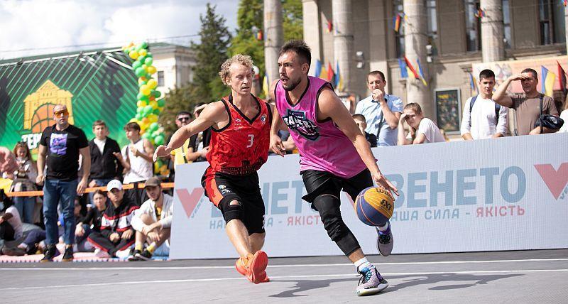У Тернополі відбувся стартовий тур Кубку України з баскетболу 3х3