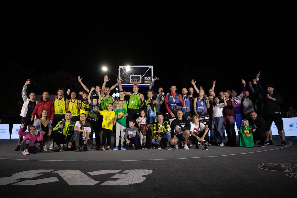 Старт Кубка України та 6 етап юніорського ЧУ 3х3 в Тернополі: фотогалерея