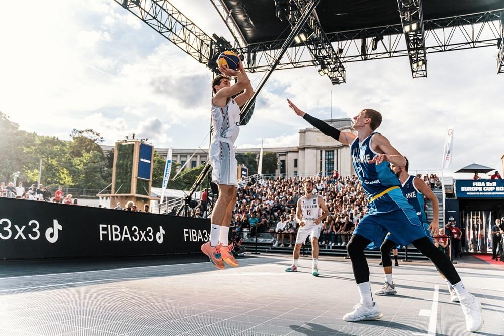 Національна чоловіча збірна України зазнала прикрої поразки на старті чемпіонату Європи 3х3