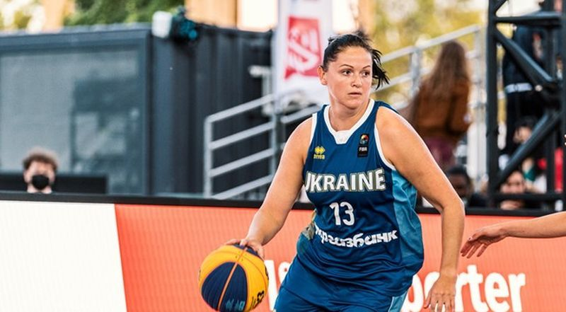 Жіноча збірна України 3х3 поступилася в чвертьфіналі чемпіонату Європи