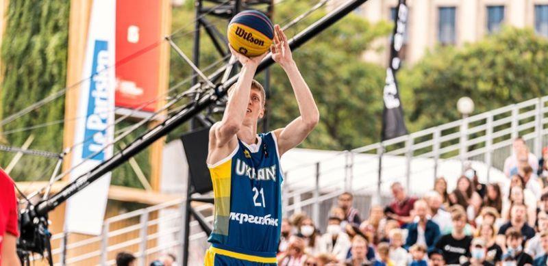 Чоловіча збірна України 3х3 поступилася в чвертьфіналі чемпіонату Європи