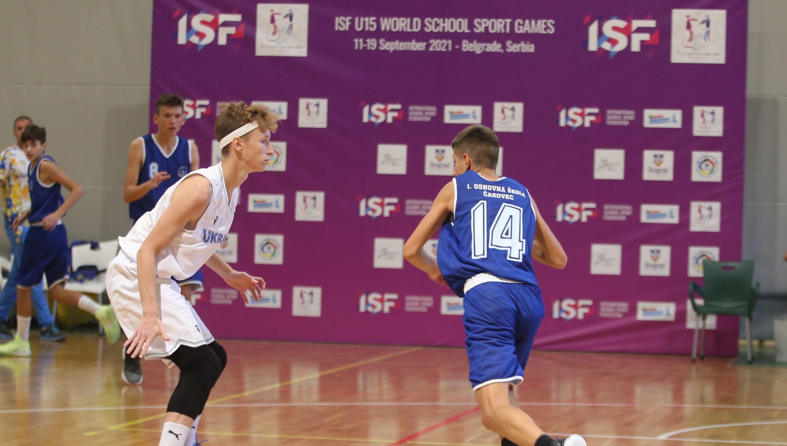 Збірні України продовжили переможну серію на Всесвітніх учнівських іграх