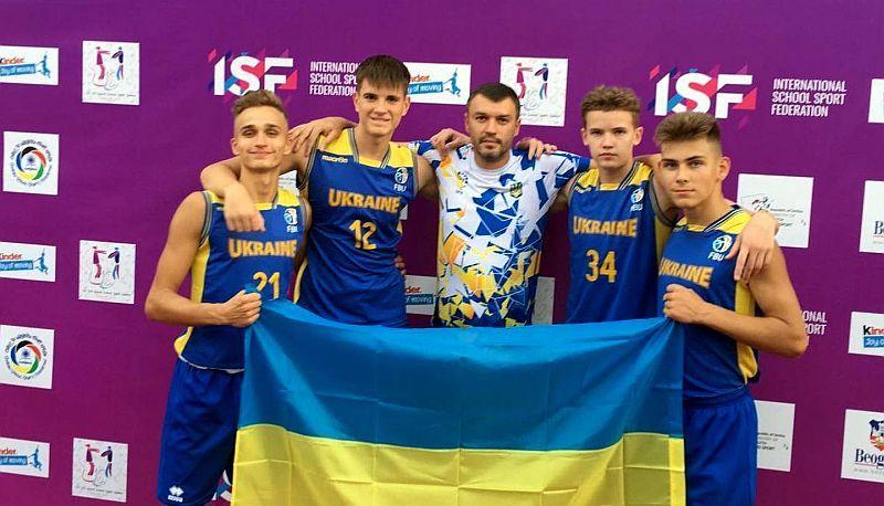 Шкільні збірні України 3х3 вибороли медалі Всесвітніх учнівських ігор