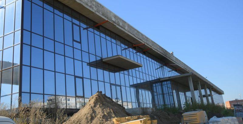 У Рівному відновили будівництво Палацу спорту
