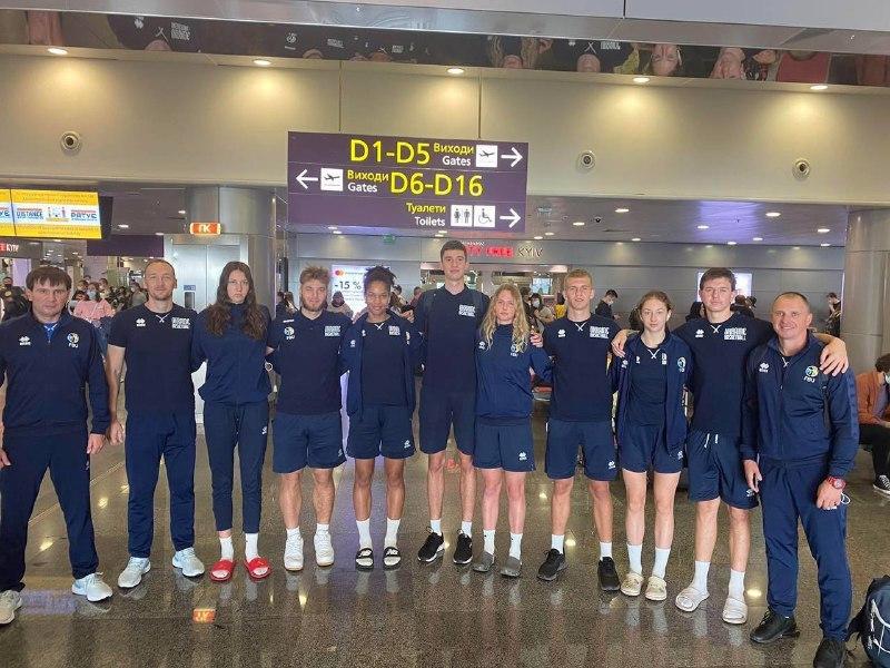 Чоловіча та жіноча збірні України U-17 вирушили на чемпіонат Європи 3х3