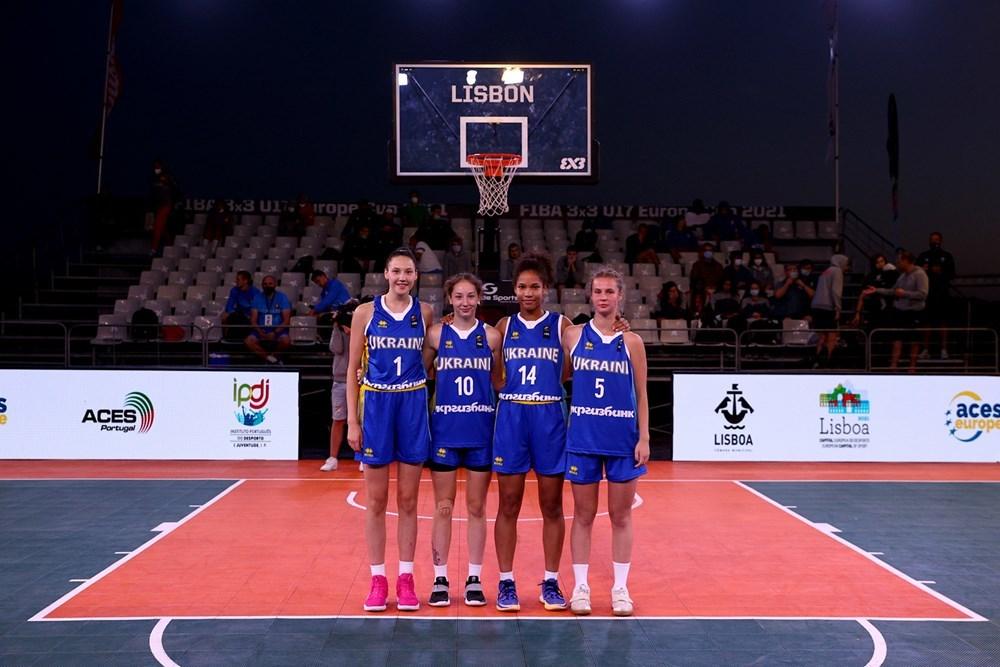 Жіноча збірна України U-17 вийшла в півфінал чемпіонату Європи 3х3