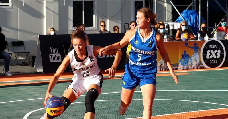 Жіноча збірна України U-17 зіграє за бронзу чемпіонату Європи 3х3