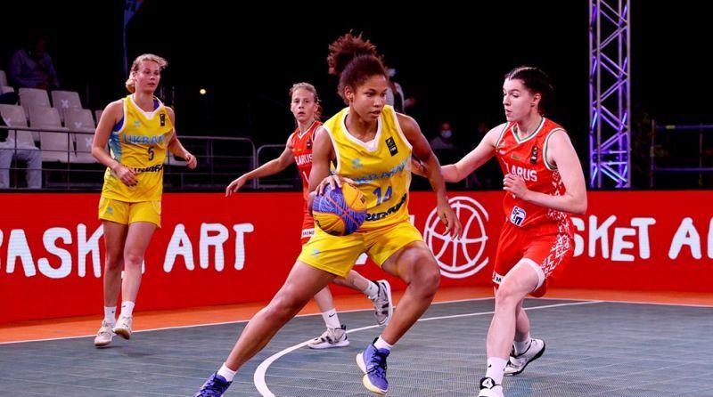Жіноча збірна України U-17 поступилася в матчі за бронзу ЄвроБаскета 3х3