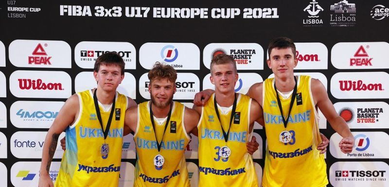 Чемпіонат Європи 3х3: підсумки виступу збірних України U-17
