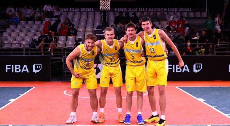Срібний фініш збірної України U-17 на ЄвроБаскеті 3х3: фотогалерея