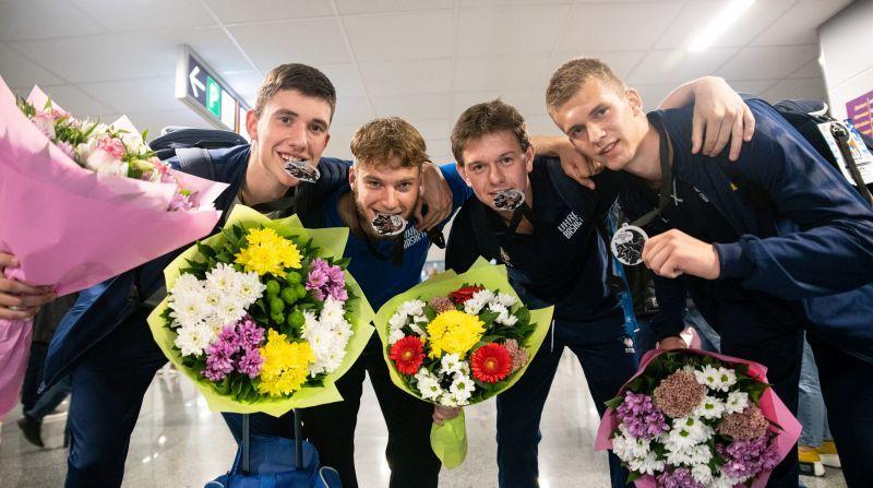 У Києві зустріли призерів юнацького чемпіонату Європи з баскетболу 3х3