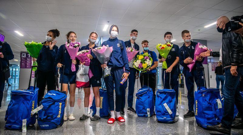 У Києві вітали призерів юнацького ЄвроБаскета 3х3: відео зустрічі