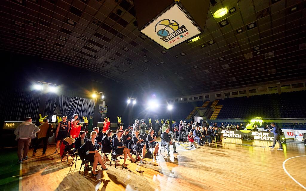 В київському Палаці спорту відбулася презентація нового баскетбольного сезону в Україні