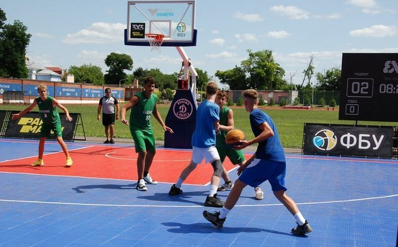Стартує юнацький чемпіонат України з баскетболу 3х3 сезону 2021/22