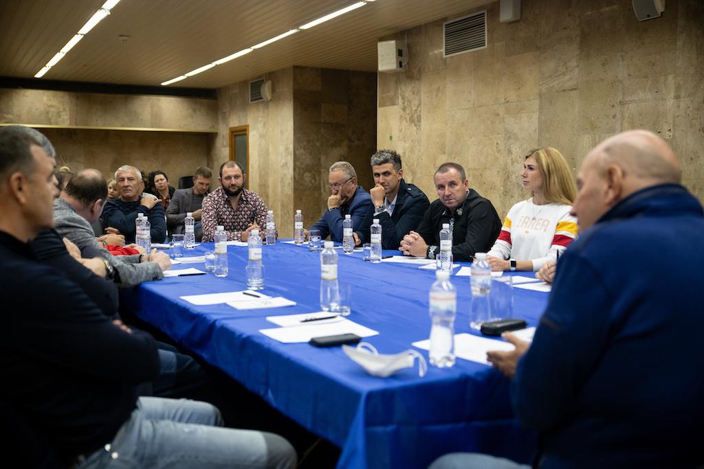 В Києві відбулася зустріч президентів клубів Суперліги Windrose