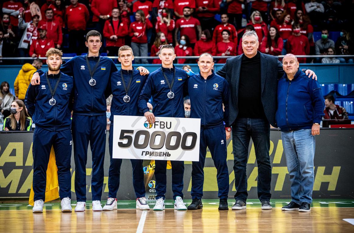 У Києві нагородили срібних призерів ЧЄ з баскетболу 3х3