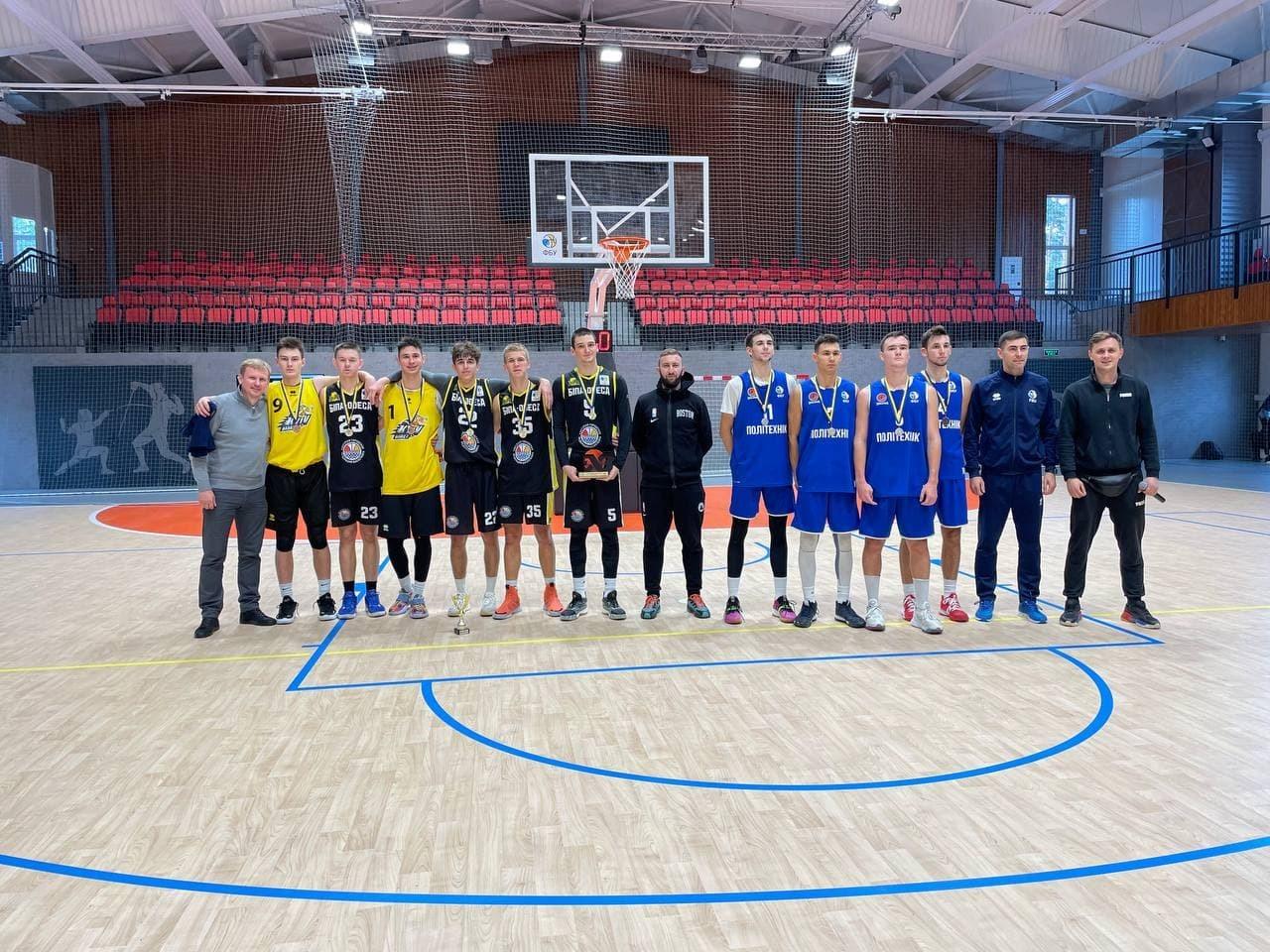 БІПА-Одеса – переможці першого туру чемпіонату України з баскетболу 3х3 серед юніорів U18