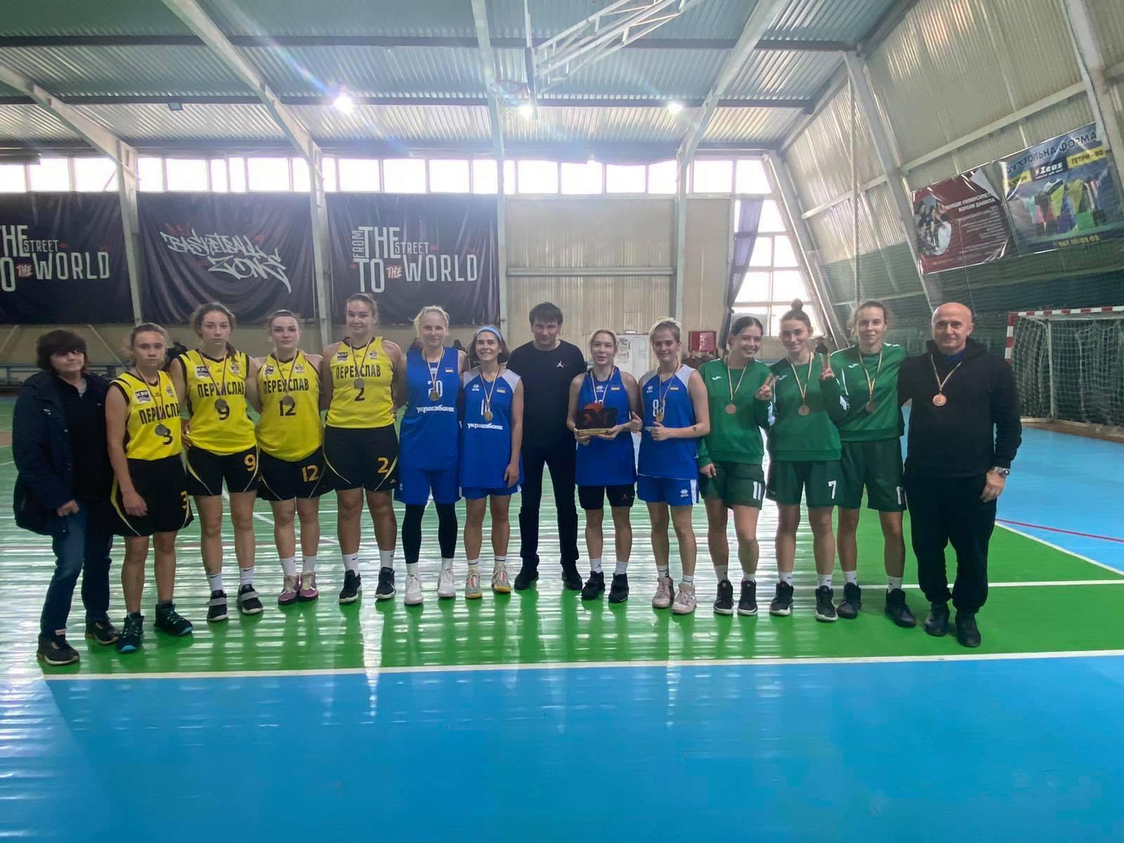 В Івано-Франківську завершився другий етап чемпіонату України 3х3 серед юніорок U-18