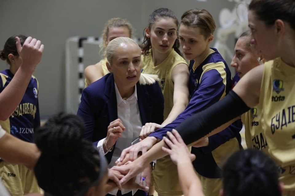 Будівельник з поразки від Прометея дебютував у жіночій Суперлізі: пресконференція після матчу