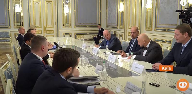 Зустріч глави ФІБА-Європа у Офісі Президента України: сюжет ICTV