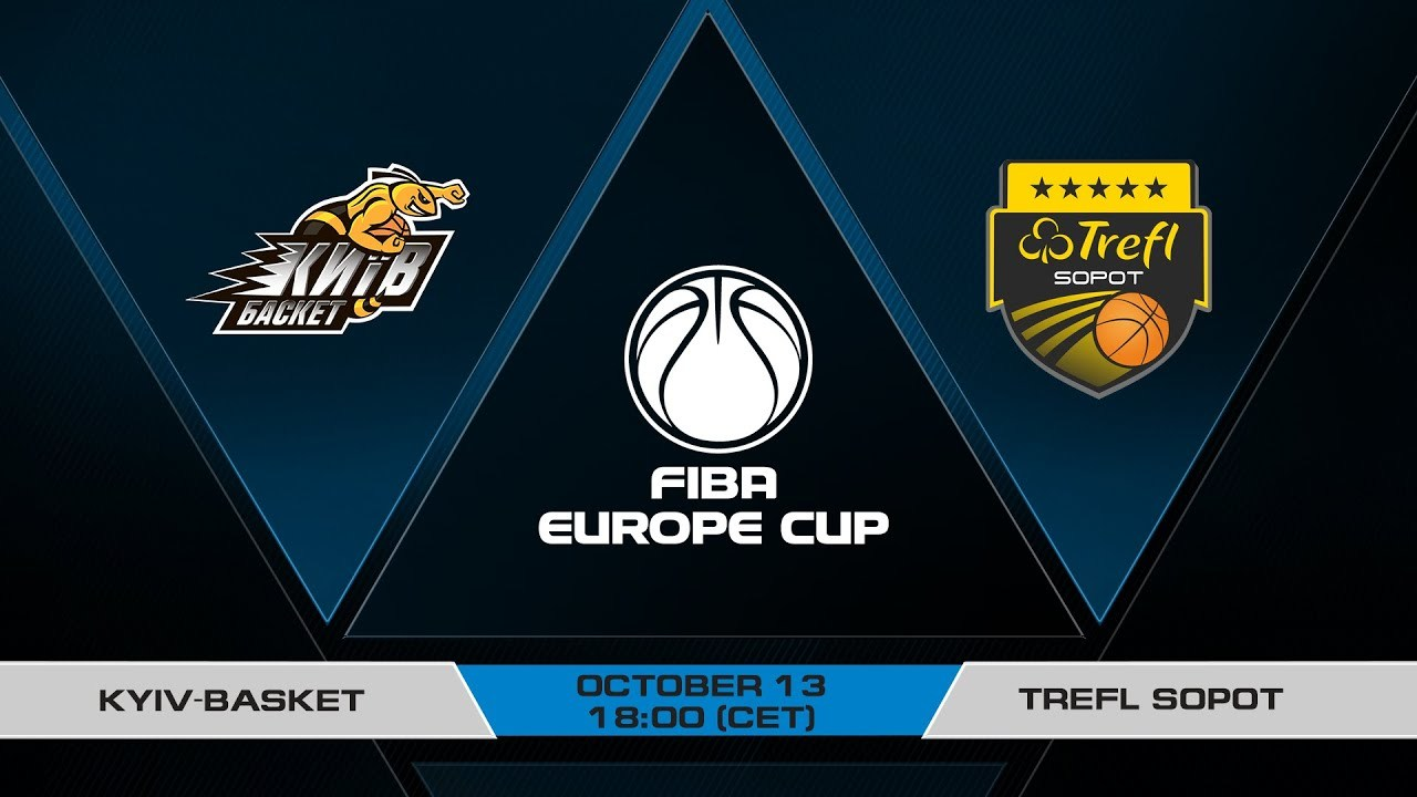 Київ-Баскет – Сопот: онлайн відеотрансляція Кубку Європи ФІБА