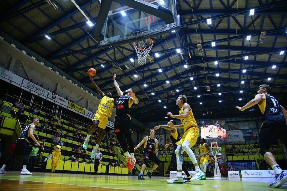 Київ-Баскет із вольової перемоги розпочав свій шлях у Кубку Європи ФІБА