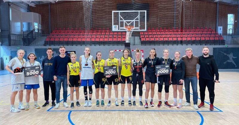 Визначено переможців 6 етапу юнацького чемпіонату України 3х3