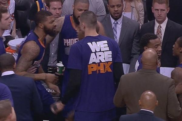 Партнери Леня по Фініксу побилися під час матчу НБА: відео інциденту