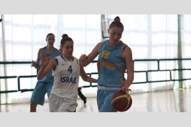 Жіноча юніорська збірна України зіграла другий спаринг з командою Ізраїлю ВІДЕО