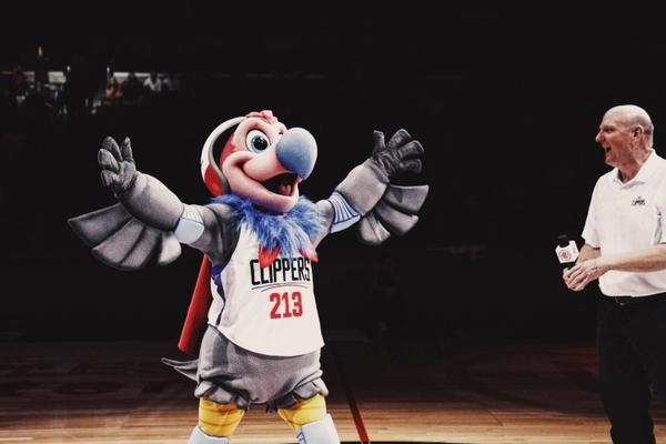 Клуб НБА Кліпперс презентував нового талісмана