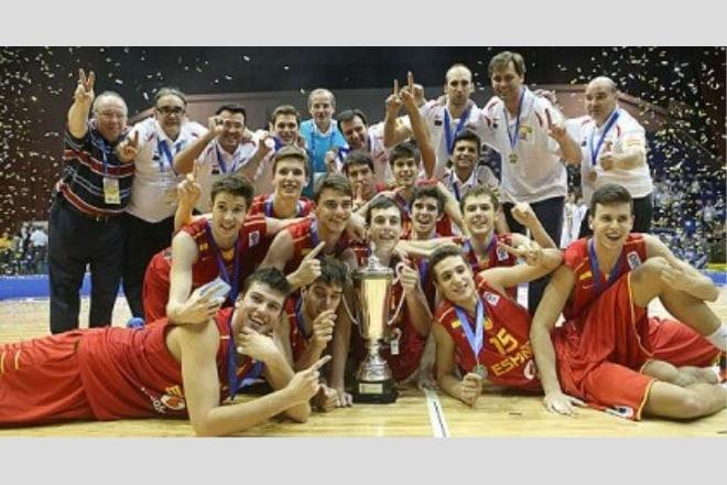 Збірна Іспанії – переможець U16 Чемпіонату Європи в Києві